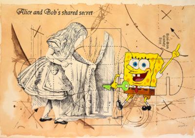 Alice and Bob shared secret